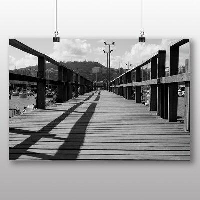 Big Box Art Wooden Pier Photographic Print