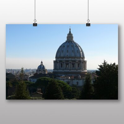 Big Box Art The Vatican St. Peters Cathedral No.1 Photographic Print