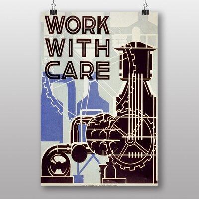 Big Box Art Work With Care No.2 Graphic Art