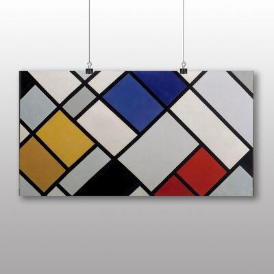 Big Box Art 'Contra Composition' by Theo Van Doesburg Graphic Art