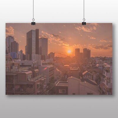 Big Box Art Twilight Japan City Photographic Print