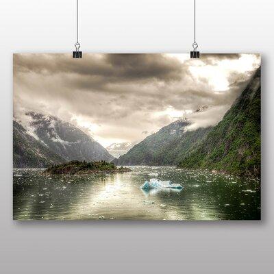 Big Box Art Tracy Arm Fjord Juneau Alaska USA Photographic Print