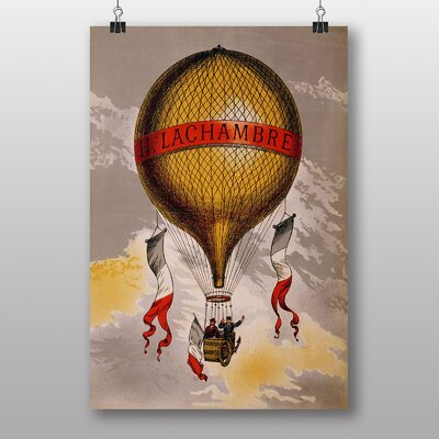 Big Box Art Lachambre Balloon Vintage Advertisement