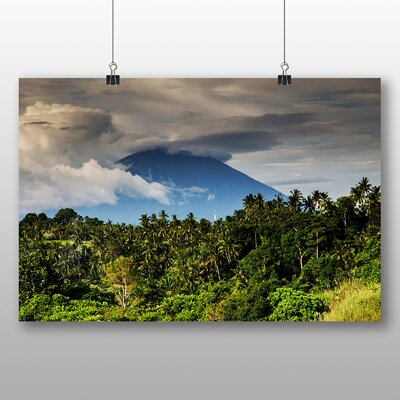 Big Box Art Volcano Costa Rica Photographic Print on Canvas