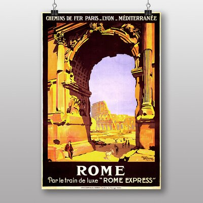 Big Box Art Rome Vintage Advertisement