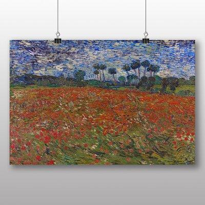 Big Box Art 'Poppy Field' by Vincent Van Gogh Art Print