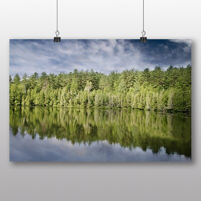 Big Box Art 'Trees Reflecting in the Water' Photographic Print