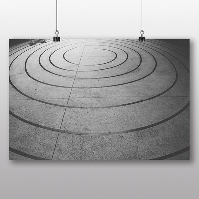 Big Box Art 'Snail Trail Abstract' Photographic Print