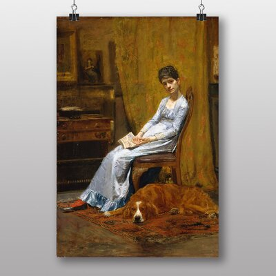 Big Box Art The Artists Wife by Thomas Eakins Art Print