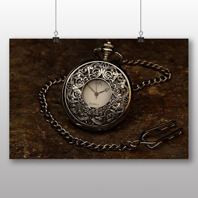 Big Box Art Vintage Pocket Watch No.3 Photographic Print