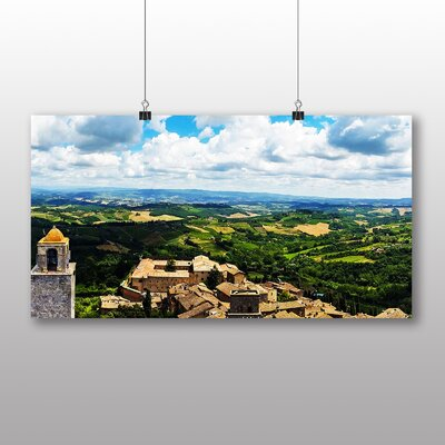 Big Box Art Tuscany Italy No.1 Photographic Print on Canvas