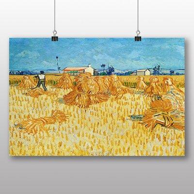 Big Box Art 'Landscape No.3' by Vincent Van Gogh Art Print