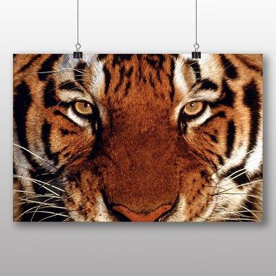 Big Box Art Tiger No.5 Photographic Print Wrapped on Canvas