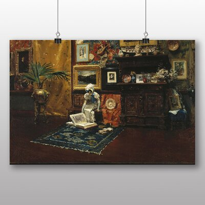 Big Box Art 'Studio Interior' by William Merritt Chase Art Print