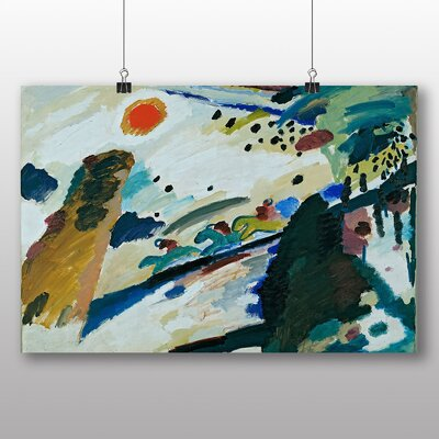 Big Box Art 'Romantic Landscape' by Wassily Kandinsky Art Print