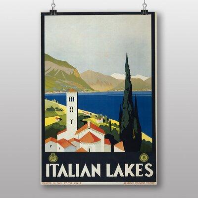 Big Box Art Italian Lakes Vintage Advertisement