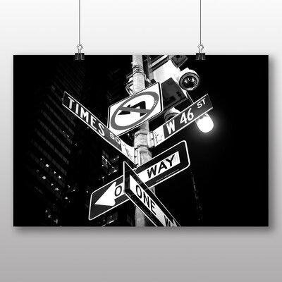 Big Box Art Times Square New York City Signs Photographic Print