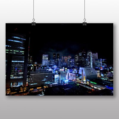Big Box Art Tokyo Japan No.1 Photographic Print on Canvas
