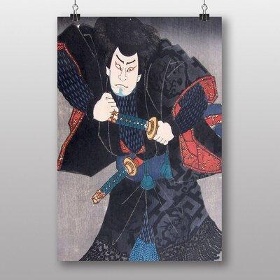 Big Box Art Utagawa Japanese Oriental Nakamura by Utagawa Toyokuni Art Print