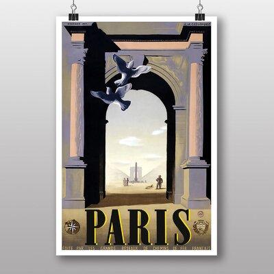 Big Box Art Paris No.2 Vintage Advertisement