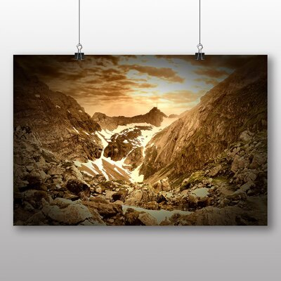 Big Box Art Valley Landscape No.1 Photographic Print
