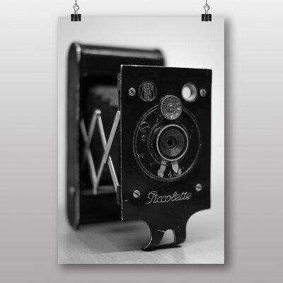 Big Box Art 'Vintage Camera Black and White' Photographic Print