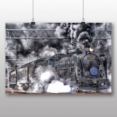 Big Box Art Train Locomotive Photographic Print