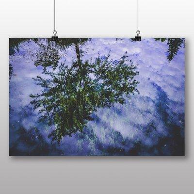 Big Box Art Tree Reflection Photographic Print