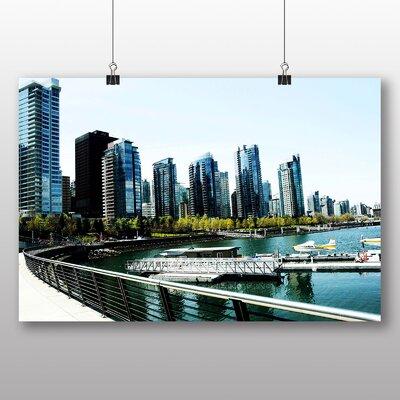 Big Box Art Vancouver Skyline City Canada No.6 Photographic Print