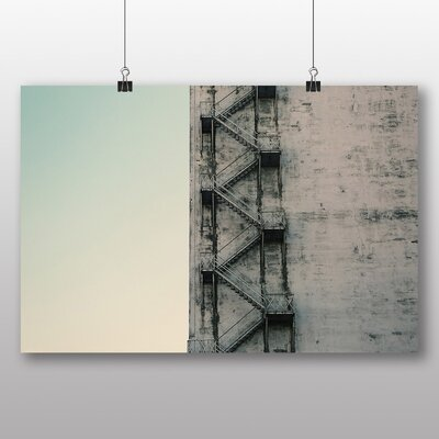 Big Box Art 'Stairwell Stairs' Photographic Print
