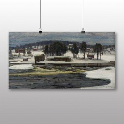 Big Box Art 'Winter Landscape No.2' by Victor Westerholm Art Print