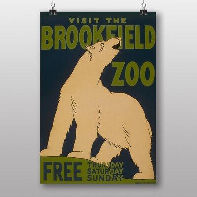 Big Box Art Brookfield Zoo No.1 Vintage Advertisement