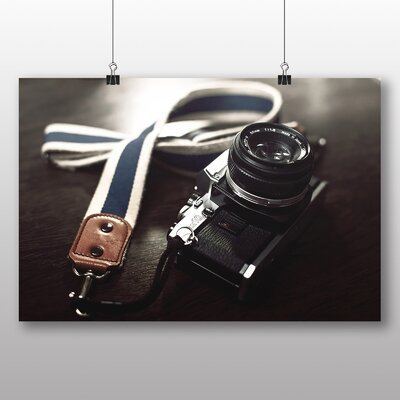 Big Box Art Vintage Retro Camera No.1 Photographic Print