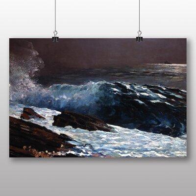 Big Box Art 'Sunlight on the Coast' by Winslow Homer Art Print