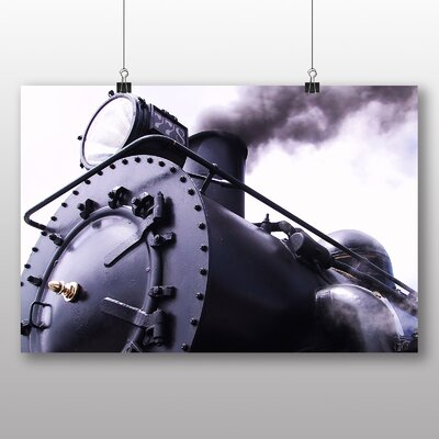 Big Box Art Vintage Steam Train No.5 Photographic Print