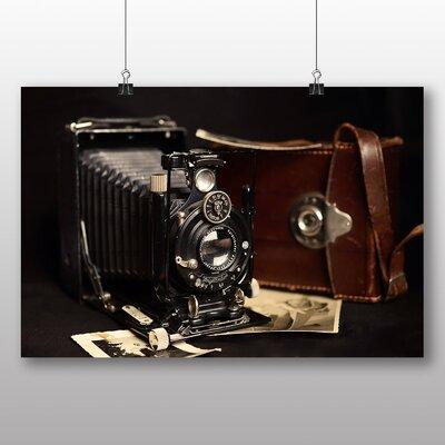 Big Box Art Vintage Camera Photographic Print Wrapped on Canvas