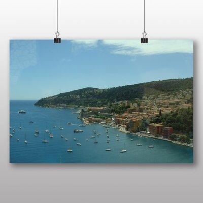 Big Box Art Villa Franch Port Monaco No.1 Photographic Print