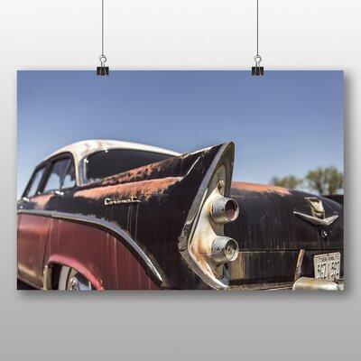 Big Box Art 'Vintage Classic Car 10' Photographic Print