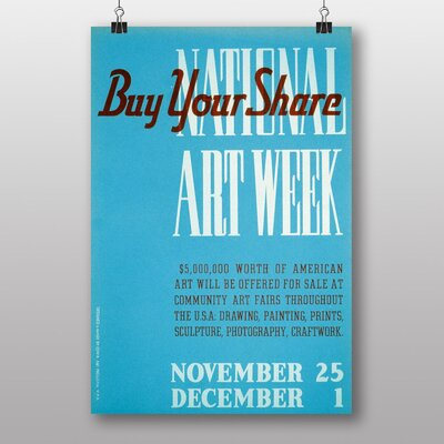 Big Box Art Buy Your Share Typography