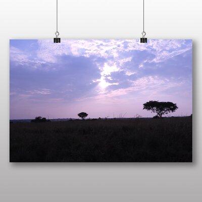 Big Box Art Uganda Landscape No.2 Photographic Print Wrapped on Canvas