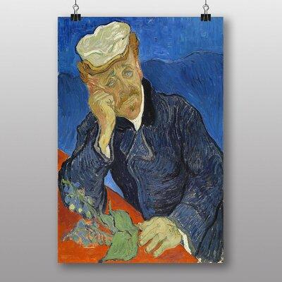 "Big Box Art ""Dr Paul Gachet"" by Vincent Van Gogh Art Print"