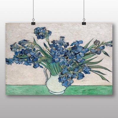Big Box Art 'Iris Irises Flowers No.3' by Vincent Van Gogh Art Print