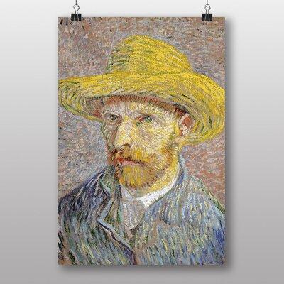 """Big Box Art """"Self Portrait No.6"""" by Vincent Van Gogh Art Print"""
