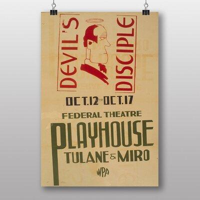 Big Box Art Devils Disciple Vintage Advertisement