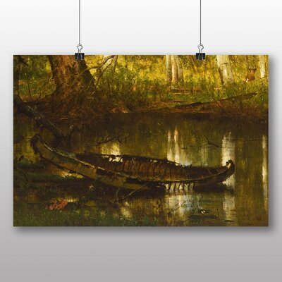 Big Box Art 'The Old Hunting Grounds' by Worthington Whittredge Art Print