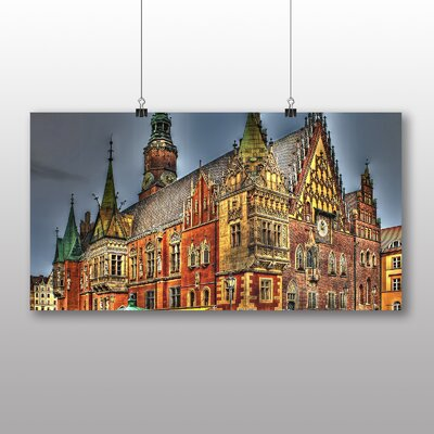 Big Box Art Wroclaw Poland No.1 Graphic Art Wrapped on Canvas
