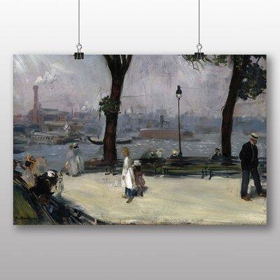 Big Box Art 'East River Park' by William Glackens Art Print