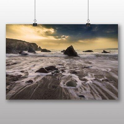 Big Box Art Sunlight Breaking Through Photographic Print on Canvas