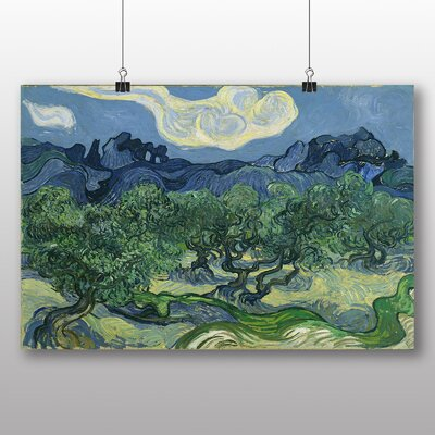 Big Box Art 'The Olive Trees' by Vincent Van Gogh Art Print