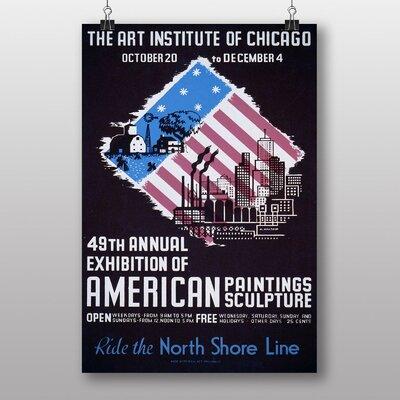 Big Box Art Institute of Chicago No.3 Vintage Advertisement